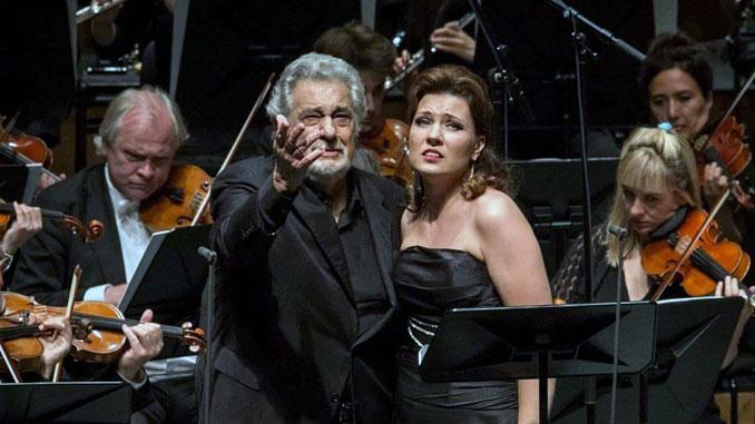Марина Ребека и Пласидо Доминго. Фото из личного архива певицы