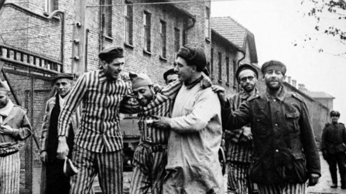 Освобождение лагеря смерти Освенцим