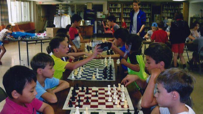 В шахматном лагере