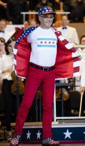 Кристофер Белл на концерте 4 июля 2016 года. Фото – Норман Тимонера