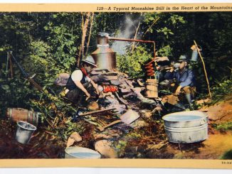 Typical Moonshine Still in the Heart of the Mountains