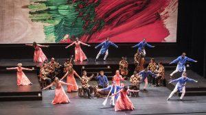 "Сцена из балета ""Layla and Majnun"""