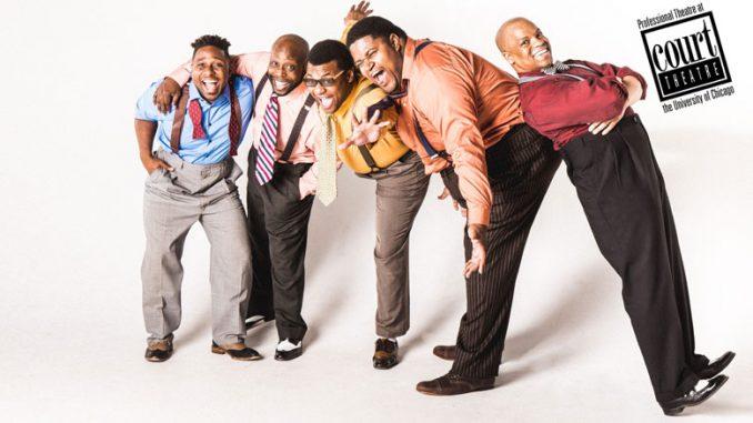 """4. Сцена из спектакля """"Five Guys Named Moe"""". Слева направо – Э.Э.Льюис, Дж. Орл Джонс Второй, К.Ростон-младший, Л.Раш-младший, Дарриан Форд. Фото – Джо Мацца"""