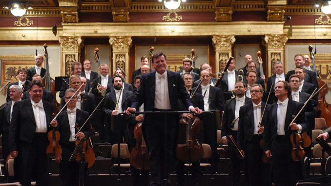 1. Дрезденская Штаатскапелла. Концерт в зале Музикферайн 9 сентября 2017 года. Фотография предоставлена пресс-службой Дрезденской Штаатскапеллы
