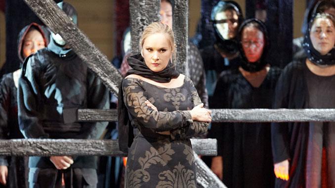 """Сцена из оперы """"Хованщина"""". Фото – Майкл Пен (Фотографии предоставлены"""