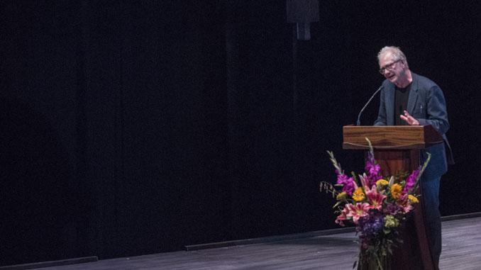 Трейси Леттс на вечере памяти Марты Лейви в Steppenwolf Theatre 9 октября 2017 года. Фото – Майкл Бросилоу
