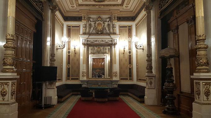 Чайная комната в Венской опере. Фото автора