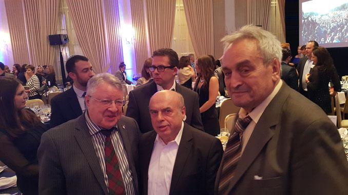 Леонид Бард, Натан Щаранский, Абрам Сагаловский