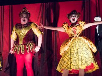 """Сцена из спектакля """"Элизабет Кри"""" (Оперный театр Филадельфии, сентябрь 2017 года). Фото – Стивен Пизано"""