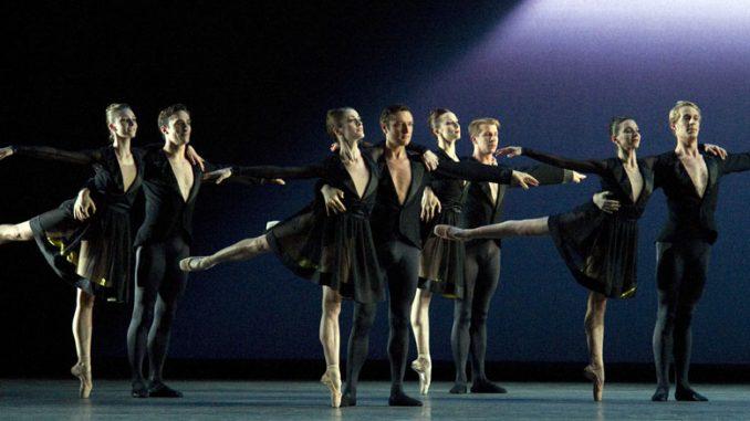 """Сцена из балета """"Тринадцать измерений"""". Фото – Джин Скьявоне"""