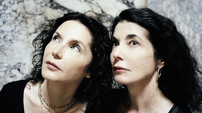 Сестры Катя и Мариэль Лабек