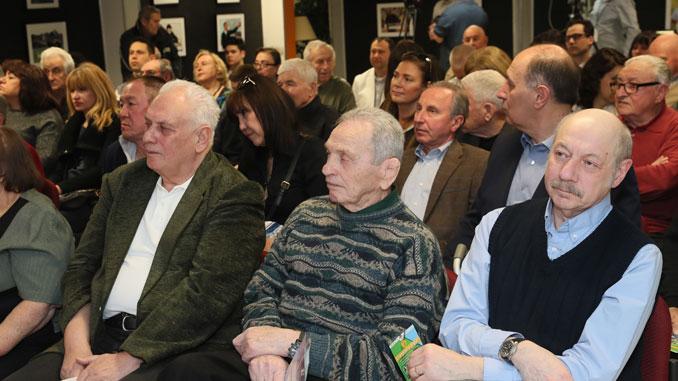 На переднем плане Олег Ландо, Борис Гуревич и Борис Лукомский