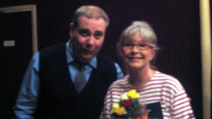 После спектакля с Мариной Влади (Париж, осень 2010 года)