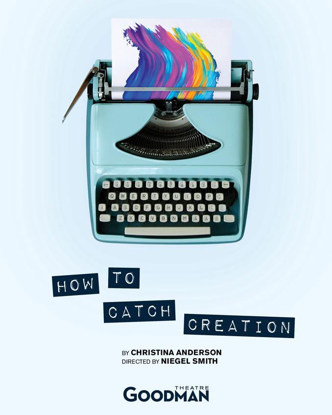 "Постер к спектаклю ""How to Catch Creation"""