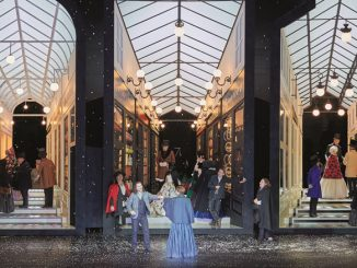 """Сцена из спектакля """"Богема"""". Фото - courtesy of Royal Opera House"""
