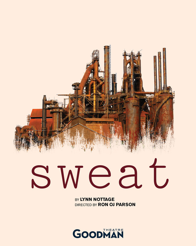 "Постер к спектаклю ""Sweat"""