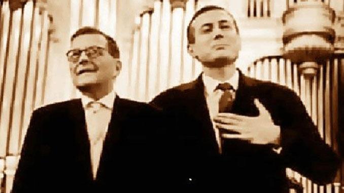 Дмитрий Шостакович и Евгений Евтушенко