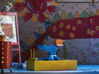 """Буркхард Фриц – Зигфрид. Сцена из спектакля """"Зигфрид"""" (Лирик-опера Чикаго, 2018 год). Фото – Тодд Розенберг"""