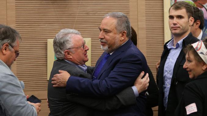 Встреча с Авигдором Либерманом в Кнессете