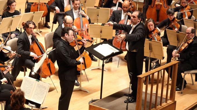 С Бостонским симфоническим оркестром. Дирижер - Туган Сохиев