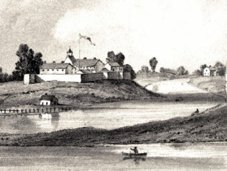 Fort Dearborn, Chicago, Illinois, as it appeared in 1831