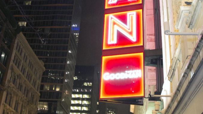 Фасад Goodman Theatre. Фото - Goodman Theatre