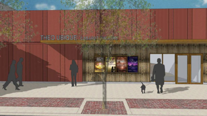 Новое здание Theo Ubique Cabaret Theatre. Фото - Theo Ubique Cabaret Theatre
