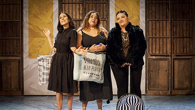 """Сцена из спектакля """"La Tia Mariela"""". Фото предоставлено пресс-службой фестиваля"""