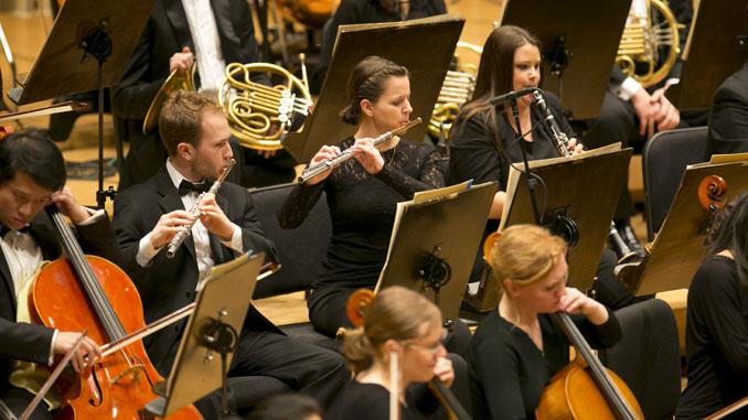 Civic Orchestra. Секция медных духовых инструментов. Фото - Тодд Розенберг