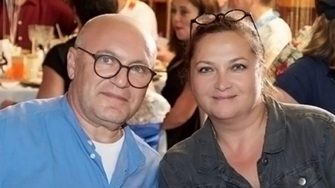 Ирина Газ с мужем Александром Стоновым