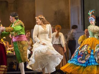 "Сцена из спектакля ""Дон Жуан"" (Лирик-опера, 2014 год). Фото – Тодд Розенберг"