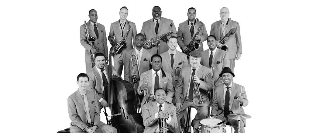 Джазовый оркестр при Линкольн-центре. Фото - Франк Стюарт