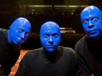 Участники Blue Man Group. Фото - Джастин Барбин