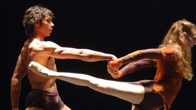 "Сцена из балета ""Mono Lisa"" (Штутгартский балет). Фото - Бернд Вайсброд"