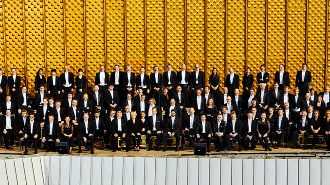 Берлинский филармонический оркестр. Фото - https://www.berliner- philharmoniker.de/en/press-room/