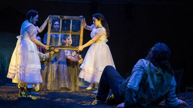 "Сцена из спектакля ""Proving Up"" (Опера Омаха). Фото - Lyric Opera"