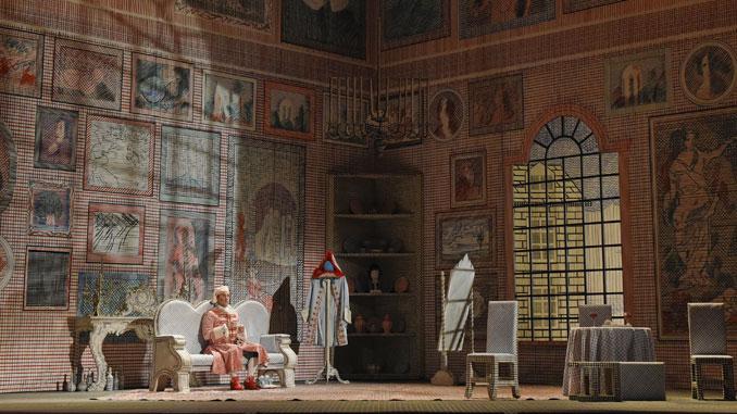 """Сцена из спектакля """"Похождения повесы"""" (Опера Портленда). Фото - Карен Алмонд"""