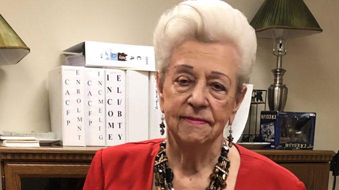 Любовь Лахтер (92 г.) делится своим рецептом здоровья