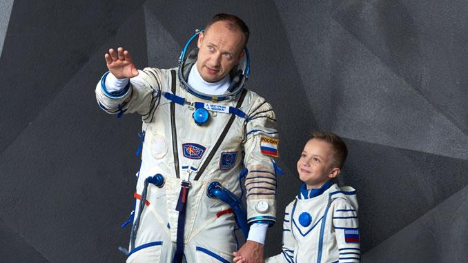 Александр Мисуркин с сыном