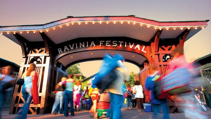 Фестиваль в Равинии. Фото - Ravinia Festival