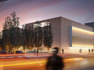 Фасад будущего здания Steppenwolf Theatre. Фото - Steppenwolf Theatre