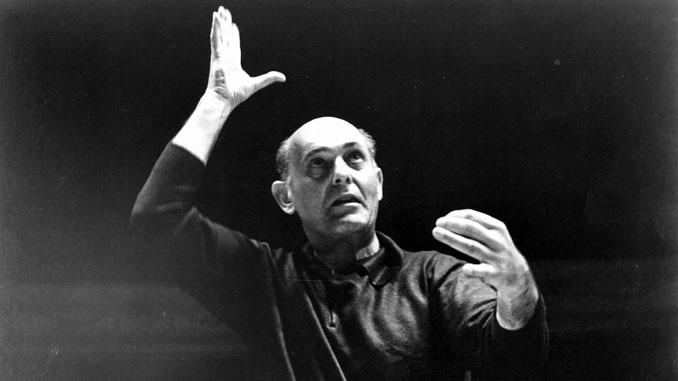Георг Шолти дирижирует ЧСО (1973 год). Фото из Архива ЧСО