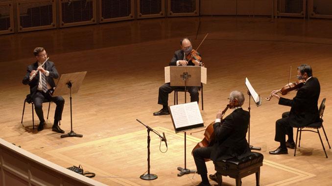 Фрагмент концерта (эпизод 11, январь 2021 года). Фото - Тодд Розенберг