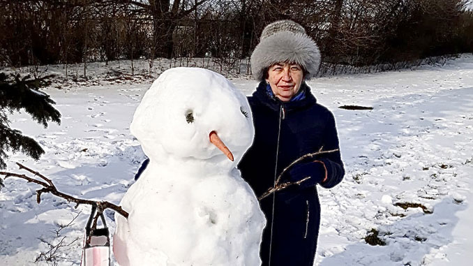 Рита Горенштейн присоединяется к новогодним пожеланиям. Фото: Р.Горенштейн