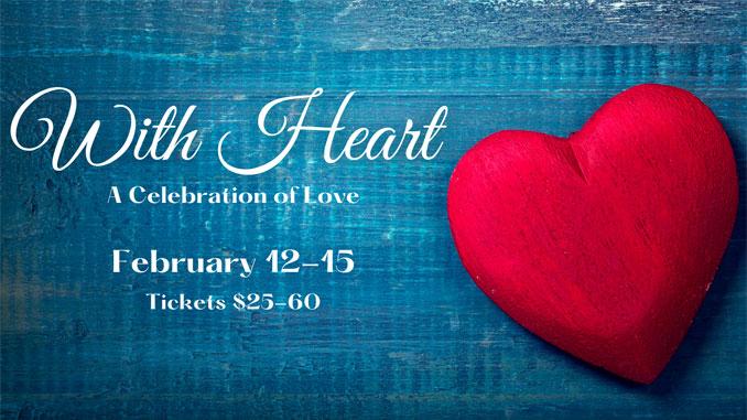 """Баннер к спектаклю """"От всего сердца: праздник любви"""". Фото - Oil Lamp Theatre"""
