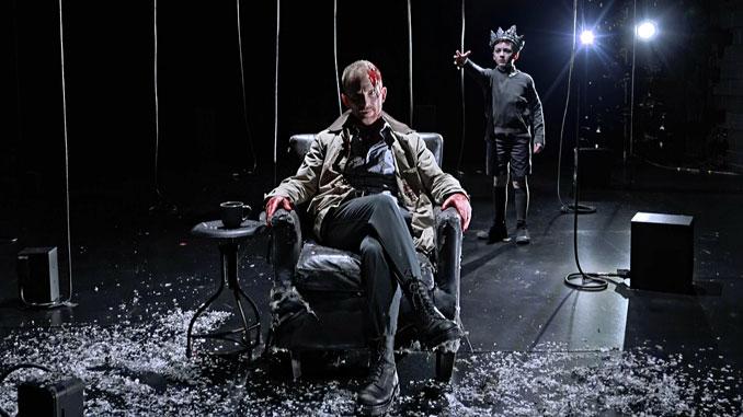 "Сцена из спектакля ""Я, Банко"". Фото - Chicago Shakespeare Theater"