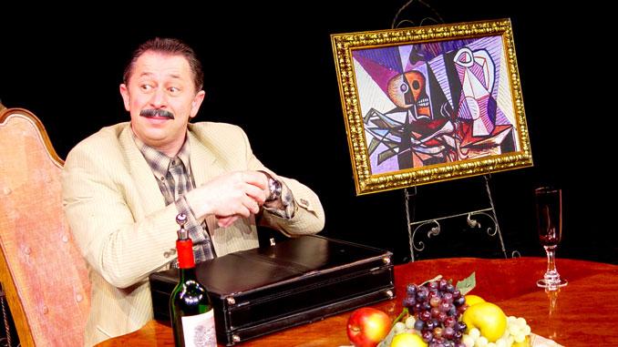 """Сцена из спектакля """"Ужин дураков"""". Фотография из личного архива Е.Колкевича"""