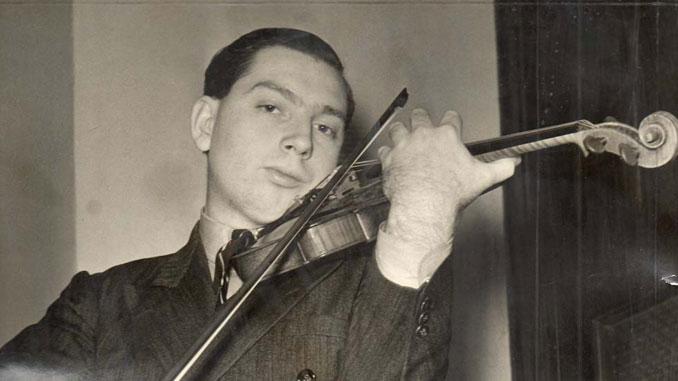 Молодой Исаак Стерн. Фото - www.classicalmusicnews.ru/