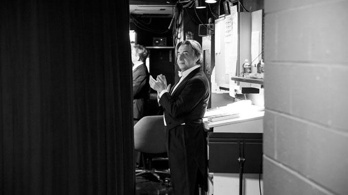 Риккардо Мути. После концерта. Чикагский симфонический центр (2017 год). Фото - Тодд Розенберг