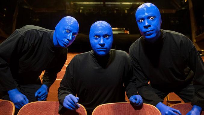 Blue Man Group Chicago. Фото - Джастин Барбин